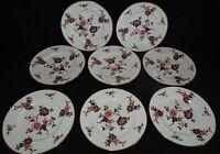 Coalport England Khotar Set of 8 Salad Plates -Bone China