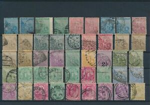 LN24871 South Africa Cape of Good Hope classic stamps fine lot used