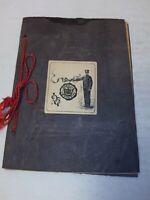1907 Norwich University Commencement graduation program Northfield Vermont