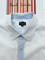 Paul Smith Men's Shirt SIZE XL - FABULOUS & COOL with Amazing Details