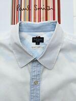 Paul Smith Men's Shirt SIZE XL - FABULOUS & COOL with Amazing Details
