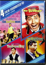 Jerry Lewis 4 Film Favorites NEW DVDs Ladies Man, Bellboy, Errand Boy, The Patsy