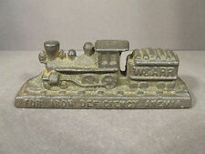 VINTAGE CAST IRON W & ARR STUART FERANGEE-HP FOR IRON DEFICIENCY ANEMIA TRAIN