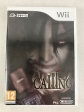 Nintendo Wii Calling (2010), UK Pal, Brand New & Factory Sealed