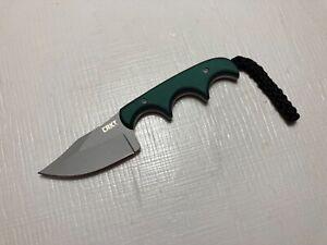 CRKT 2387 Minimalist Cleaver Folts Design Fixed Blade EDC Knife