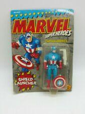 Toybiz Marvel Super Heroes SHIELD LAUNCHER CAPTAIN AMERICA Figure Toy 1990 M3