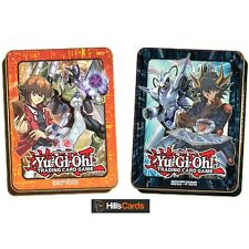 Yu-Gi-Oh Both 2018 Mega Tins Jaden + Yusei - Mega Packs TCG Cards - New & Sealed