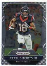 2015 Panini Prizm Football #127 Cecil Shorts III Houston Texans