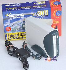MEMOREX BBQ200 CD-ROM CD-RW CD MASTERIZZATORE CON RETE. PER PANASONIC CF-27