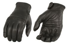 Womens Premium Leather Riding Gloves, Gel Palm & Flex Knuckles MG7735