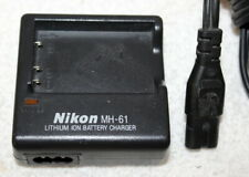 Nikon MH-61 OEM Camera Battery Charger Complete w/ AC Power Cord ~ Used