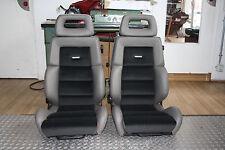 2 Recaro AUDI Quattro Urquattro Sport Quattro neu Leder - Stoff original
