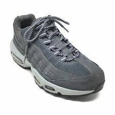 Men's Nike Air Max 95 Running Shoes Sneakers Size 6.5 M Solid Gray Athletic B12