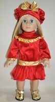 18 Doll Clothes Red Christmas Outfit Fits American Girl Dolls  Our Generation