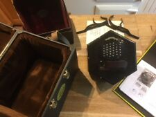 1898, Lachenal, 'New Model', 64 key Mccann Duet Concertina, with cases,