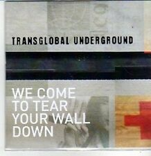 (CS361) Transglobal Underground, We Come To Tear Your Wall Down - 2011 DJ CD