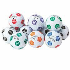 24 Golf Balls- Callaway Chrome Soft Truvis Custom Mix - AAAA