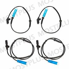 Set of 4 ABS Wheel Speed Sensor for BMW 740I 740IL 750IL Front & Rear 98-01