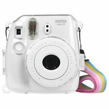 Für Fujifilm Instax Mini 9 Mini 8 Mini 8+ Tasche Sofortbildkamera Crystal Clear