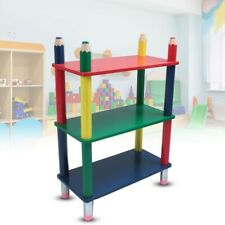 Colourful Children's Room Shelf Wood Furniture Pencils Eraser Wardrobe
