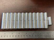 **25-PCS Aluminum Standoff Round Spacer Unthreaded