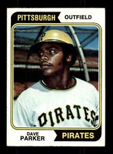 1974 Topps #252 DAVE PARKER EX+ *9s