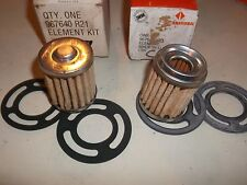 SCOUT- INTERNATIONAL -1961-73   OEM FUEL  FILTER- 967640 R21--LOT OF- 2