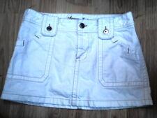 Woman's American Eagle White Denim Skirt whites Size 6