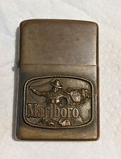 1976 Zippo, Marlboro Cowboy Roper Lighter, very rare, with original inner.