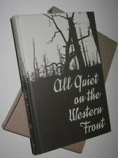 Folio Society All Quiet on the Western Front Remarque WW1 Slipcase Hardback
