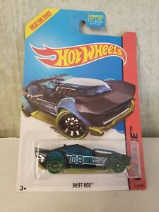 HOT Wheels DRIFT ROD GREAT for track X-RAYCERS BUY3 GET1 FREE ADD TO YOUR CART
