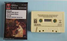Cassette Berlioz - Romeo And Juliet / Giulini Chicago Symphony EMI Eminence Tape
