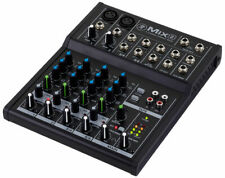 Mixer Compact Con 6 Way Mackie MIX8 of Which 2 Ch and Mic 2 Ch Stereo