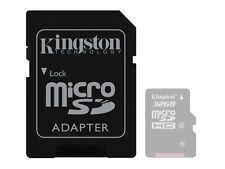 Solo Adattatore per Micro SD SDHC T-Flash Card memoria Kingston 4 8 16 32 64 GB