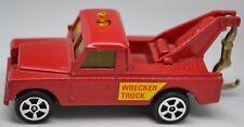 CORGI juniors red Land Rover dépanneuse lourde/Récupération Camion-Very Near Comme neuf