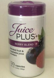 NEW SEALED JUICE PLUS Berry Blend 2 Month Supply 120 Capsules EXP 01/2022