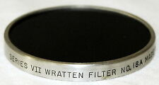 Series 7 VII UV Passing Filter 18A UV PHOTOGRAPHY WRATTEN 18A RARE!!