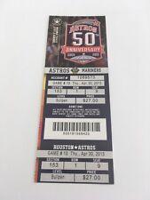 Gregerson Win April 30 2015 4/30/15 Astros Mariners Full Ticket Altuve Springer