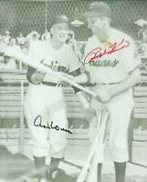Original Autographs JSA, Ralph Kiner HOF and Al Rosen of the Cleveland Indians