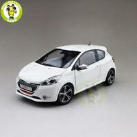 1/18 Norev Peugeot 208 GTI 2013 Diecast Model Car Toys Kids Boys Girls Gifts