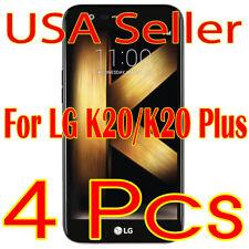 4x New LG k20 HD Clear Screen Protector Guard Film Shield (USA)