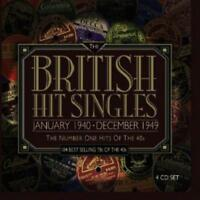 British Hit Singles - Number Ones Of The 40s - Various Artists (NEW 4CD)