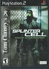 PlayStation 2 PS2 Tom Clancys Splinter Cell Stealth Action Redefined CD Vid Game