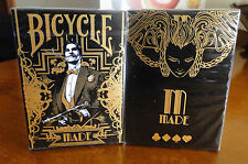 Made Gold Deck Bicycle Playing Cards Poker Size USPCC Custom Limited New Sealed
