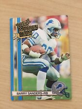 1990 Action Packed All Madden Team Barry Sanders #47 Lions