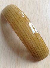 A Honey Colour Wood Effect Barrette Hair Clip