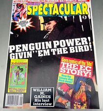 Comics Scene Spectacular #7 Posters, Penguin, Catwoman, Black Cat Sept 1992
