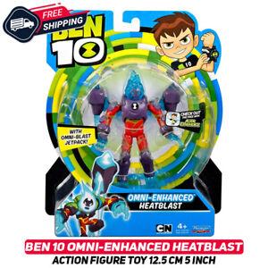 Ben 10 OMNI-ENHANCED HEATBLAST Action Figure Toy 12.5 cm 5 Inch Very Rare New