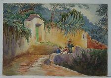 PORTOFINO - MONOGRAMMIST EVE - RAPALLO GENOVA GENUA - 1909 ITALIEN ITALIA ITALY