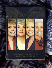 GOLDEN GIRLS Season 7 The Complete Seventh Final And Season REGION 1 DVD Box Set